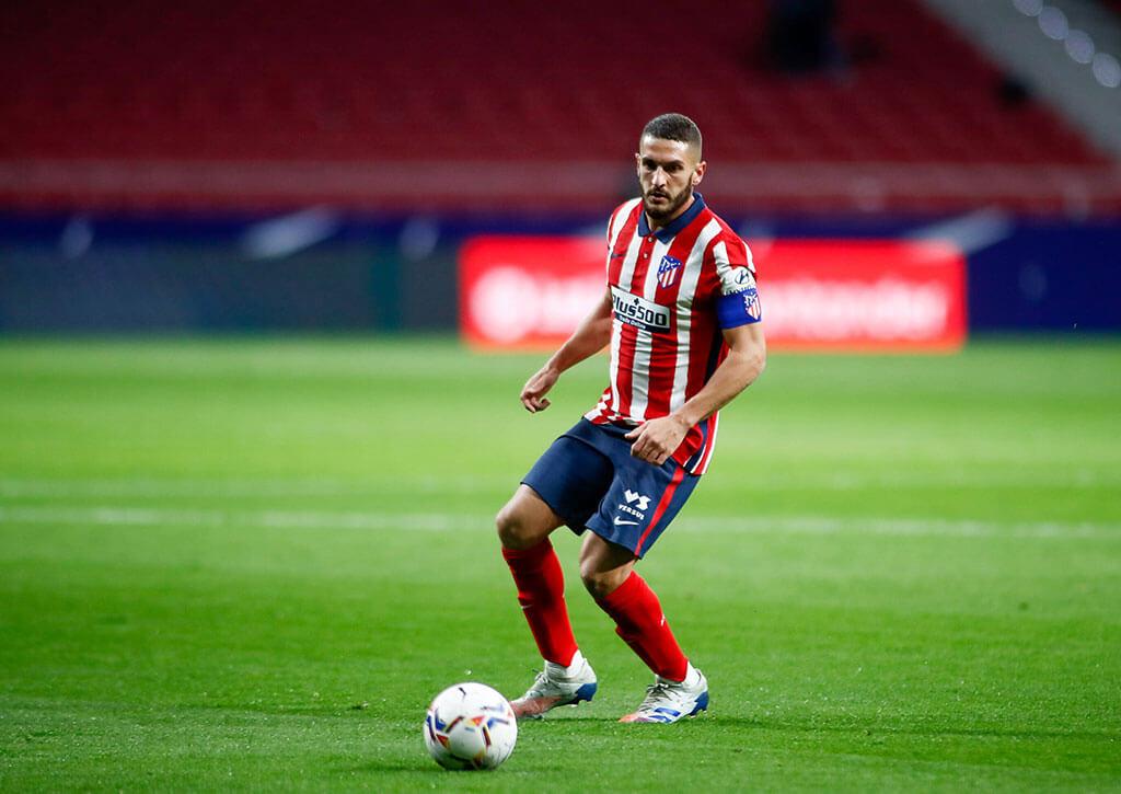 Koke Resurreccion en Wanda Metropolitano (Atletico de Madrid)